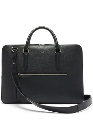 SMYTHSON Ludlow Grained-leather Briefcase - Mens
