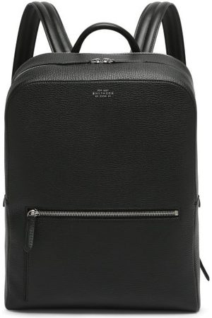 SMYTHSON Ludlow Grained-leather Backpack - Mens
