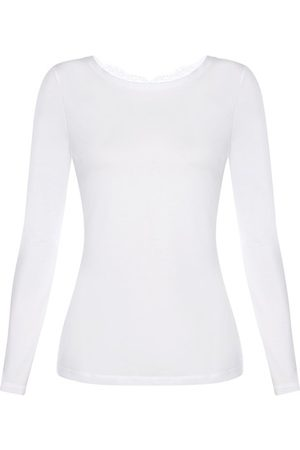 La Perla Cotton Long-Sleeved Top