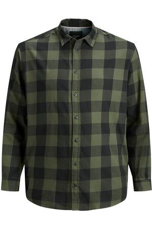 Jack & Jones Checked Plus Size Shirt