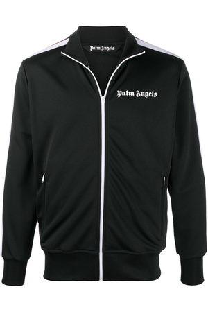 Palm Angels Chest logo-print track jacket