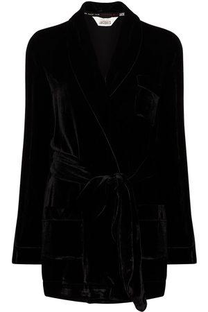 Sleeping with Jacques Women Bathrobes - The Bon Vivant Robe lounge jacket