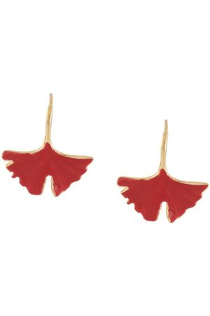 Aurélie Bidermann Vermilion Tangerine earrings