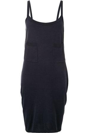 CHANEL Women Dresses - 1990s open back knee-length dress