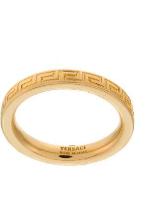 VERSACE Greek Key band ring