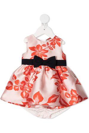 Hucklebones London Floral-jacquard sleeveless dress