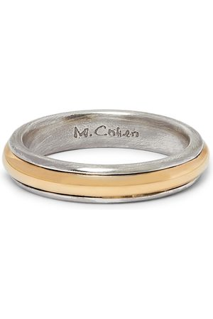 M.Cohen Men Rings - 18-Karat Gold and Sterling Ring