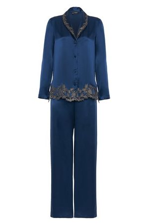 La Perla Women Pyjamas - Silk Pyjamas with Frastaglio