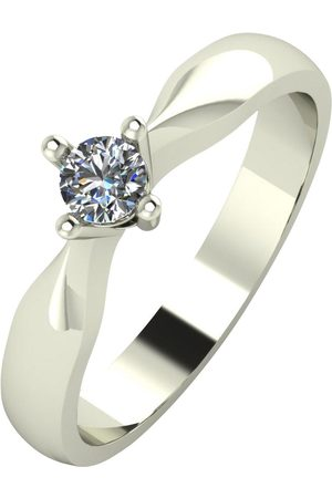 Love Diamond 9Ct 15 Point Diamond Solataire Engagement Ring
