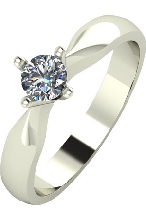 Love DIAMOND 9Ct 30 Point Diamond Solataire Engagement Ring