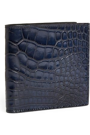 Brioni Crocodile Bifold Wallet
