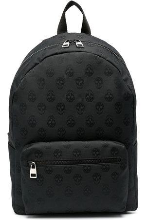 Alexander McQueen Zip-around skull backpack