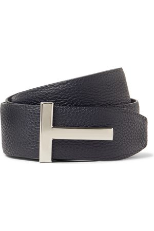 Tom Ford 4cm Reversible Full-Grain Leather Belt