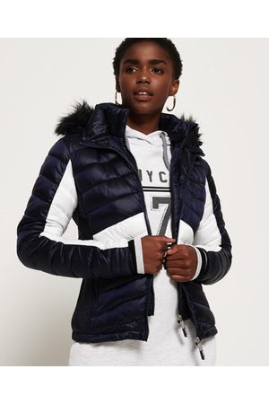 Superdry Women Jackets - Offshore Luxe Chevron Fuji Jacket
