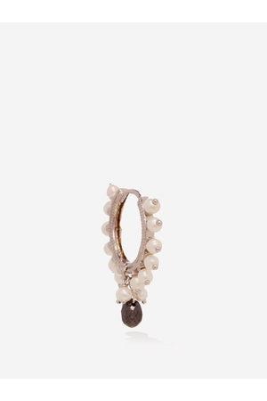 Maria Tash Diamond, Pearl & - Single Earring - Womens