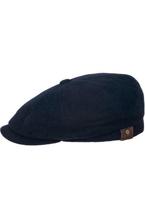 Stetson Men Hats - Hatteras Wool/Cashmere Flat Cap - Blue