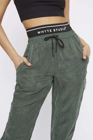 """Whyte Studio Women Trousers - THE """"TRACK"""" JOGGER"""