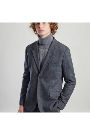 L'Exception Paris Men Coats - Japanese Wool Simple Dress Coat