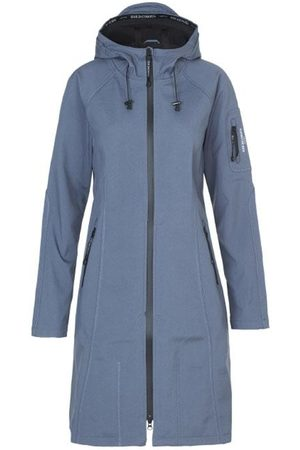 Ilse Jacobsen Long Raincoat Grayness