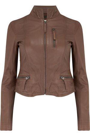 MDK / Munderingskompagniet Rucy Leather Jacket in Bison