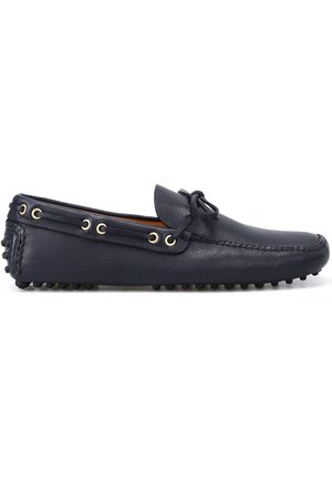CAR SHOE MEN'S KUD006F0008 LEATHER LOAFERS