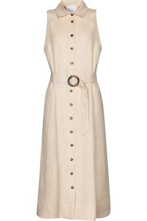 Lisa Marie Fernandez Alison linen midi dress