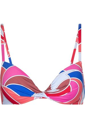Emilio Pucci Quirimbas print bikini top
