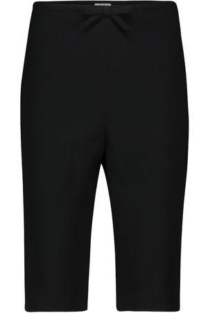 Miu Miu High-rise shorts
