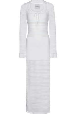 Alaïa Edition 1993 Knit midi dress