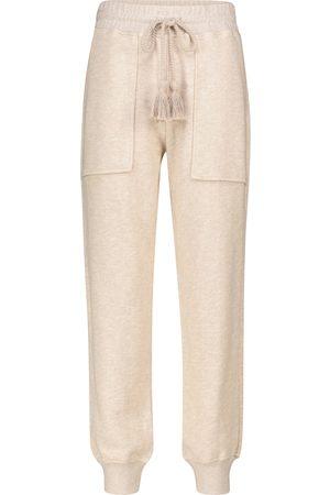 ULLA JOHNSON Charley cotton knit trackpants