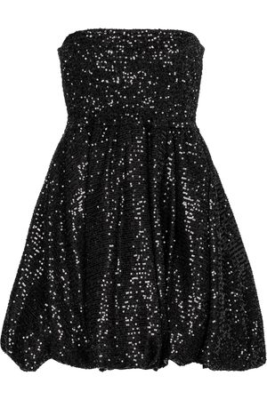 Caroline Constas Bianca sequined strapless minidress