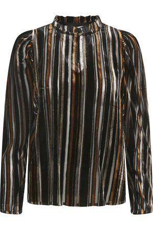 Part Two Fuia Velvet Stripe Blouse