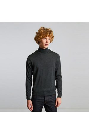 L'exception Paris Merino wool turtleneck jumper Khaki