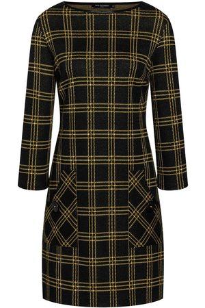 Ana Alcazar BEMLY Checked Dress & Yellow