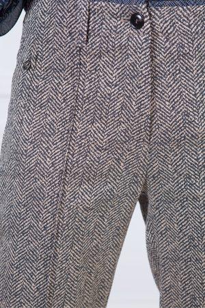 Riani Women Trousers - Rocca Check Trousers