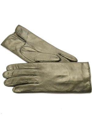 Gala Gloves Women Gloves - Ladies metallic leather gloves w cash lining