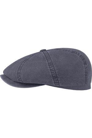 Stetson Men Hats - Hatteras Flat Cap - Delave Organic Cotton