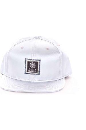 Franklin & Marshall MEN'S CPUA922W17SILVER COTTON HAT