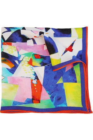 Ella Impressions RAINBOW -SILK SATIN POCKET SQUARE