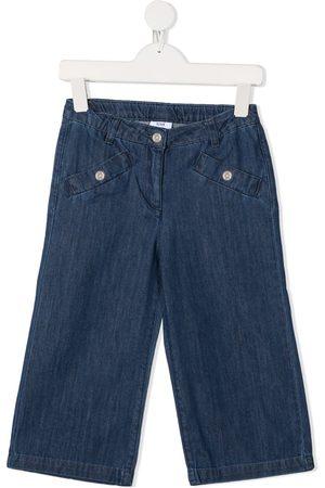 KNOT Girls Trousers - Nuriki wide-leg denim trousers