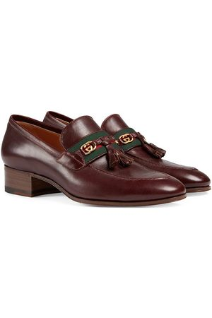 Gucci Low heel leather loafers