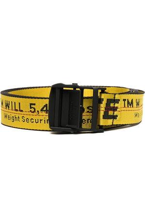OFF-WHITE Logo-tape adjustable-fit belt
