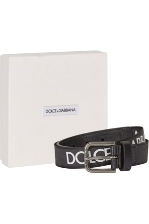 Dolce & Gabbana Kids Logo-Embossed Belt