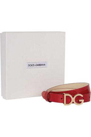 Dolce & Gabbana Belts - Kids Logo Leather Belt