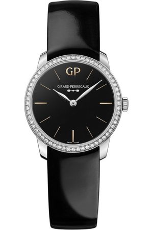 Girard Perregaux Women Watches - Stainless Steel, Diamond and Onyx 1966 Infinity Edition Watch 30mm