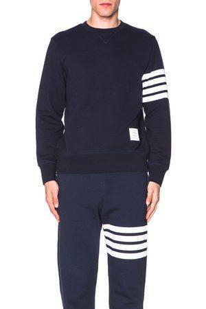 Thom Browne Classic Sweatshirt in Navy