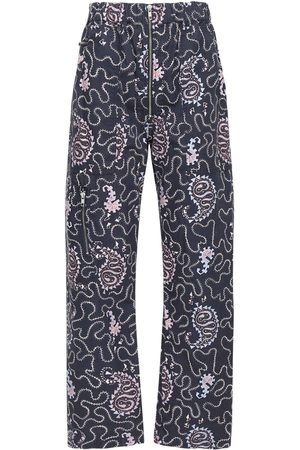 Isabel Marant Noferis Printed Cotton Pants