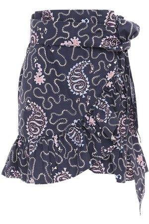 Isabel Marant Liliko Printed Cotton Mini Skirt