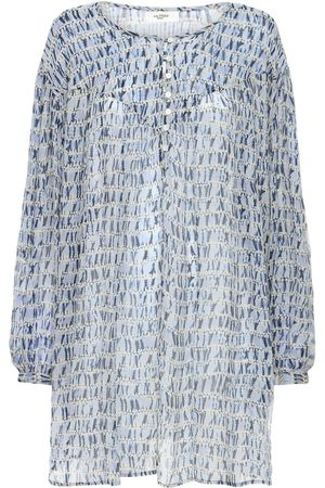 Isabel Marant Silorion Chiffon Mini Dress
