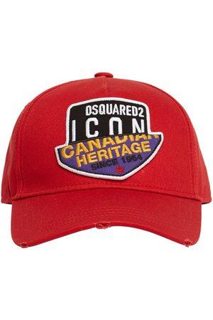 Dsquared2 Icon Patch Cotton Gabardine Cap